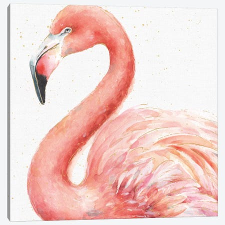 Gracefully Pink III Canvas Print #WAC5877} by Lisa Audit Canvas Art
