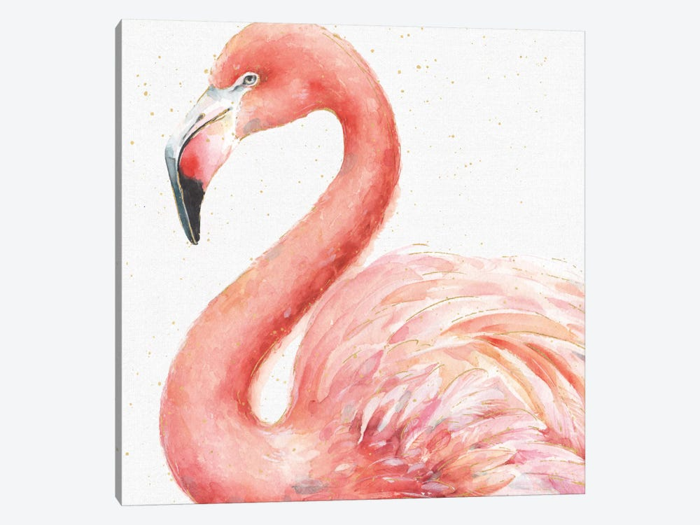Gracefully Pink III by Lisa Audit 1-piece Canvas Print