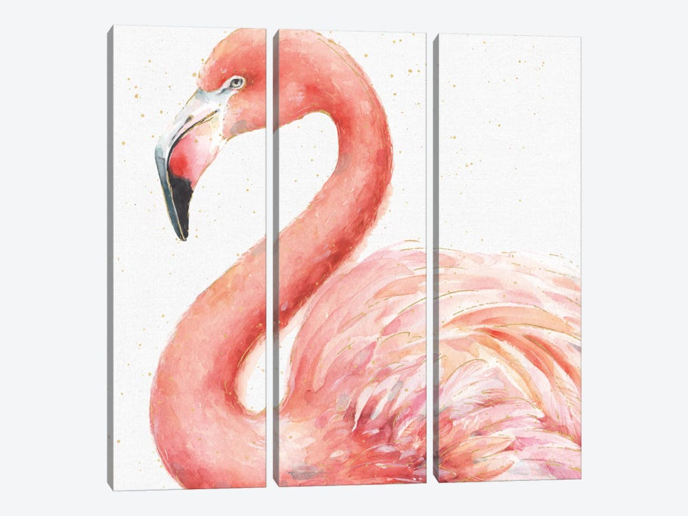 Gracefully Pink III by Lisa Audit 3-piece Art Print