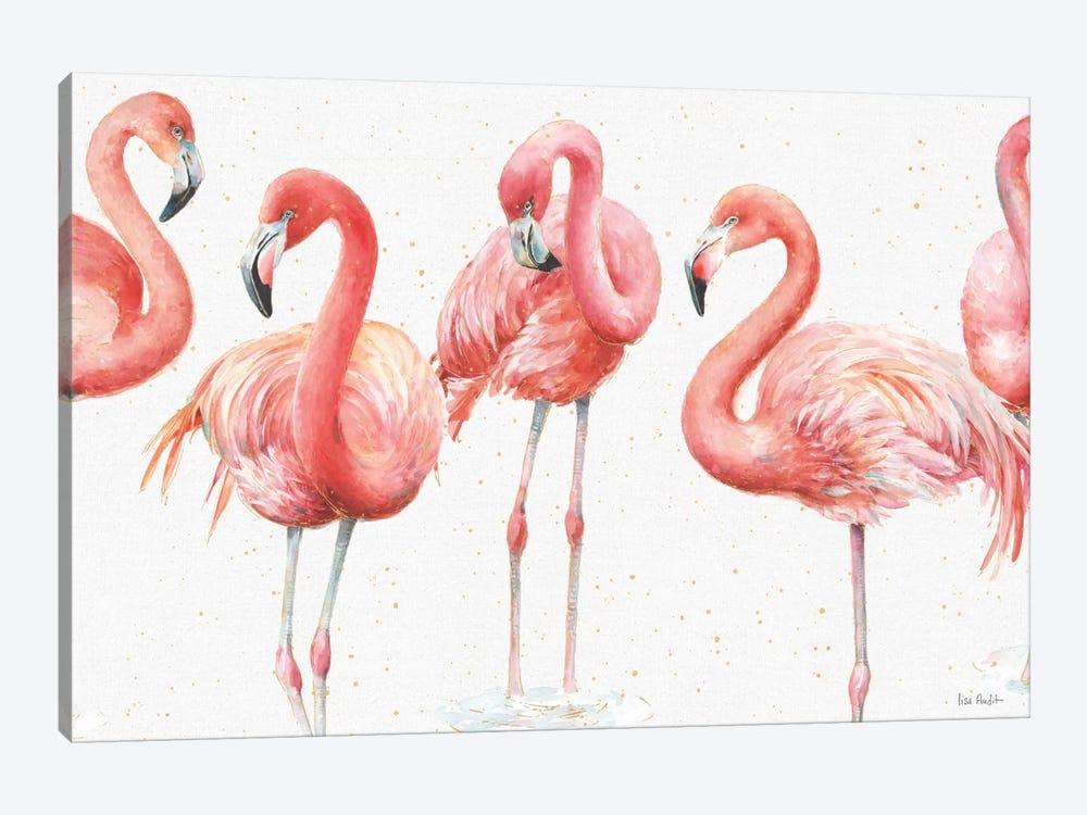 Gracefully Pink VIII by Lisa Audit 1-piece Canvas Artwork