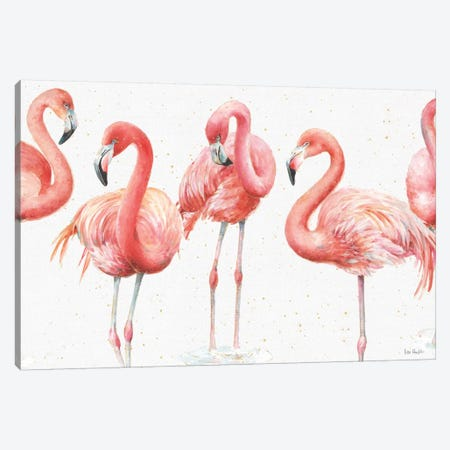 Gracefully Pink VIII Canvas Print #WAC5878} by Lisa Audit Canvas Print