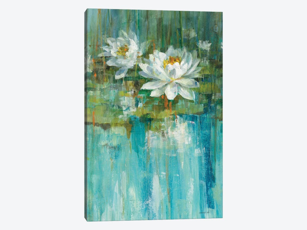 Water Lily Pond Panel I by Danhui Nai 1-piece Art Print