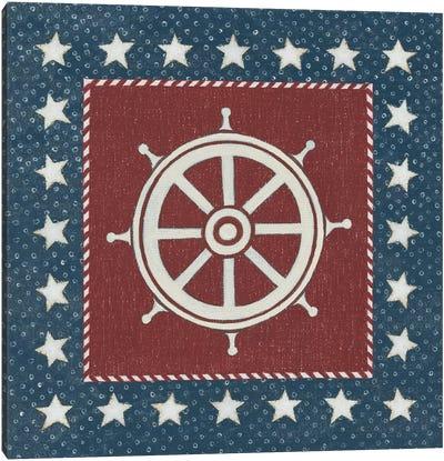 Coastal Americana IV Canvas Art Print