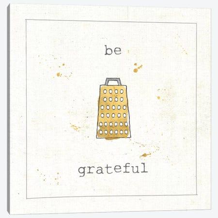 Be Grateful Canvas Print #WAC5903} by Pela Studio Canvas Art Print