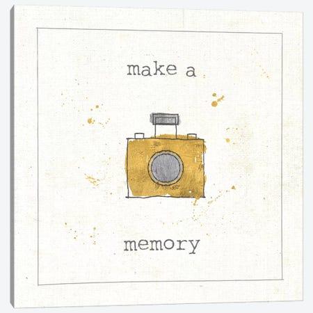 Make A Memory Canvas Print #WAC5906} by Pela Studio Canvas Wall Art