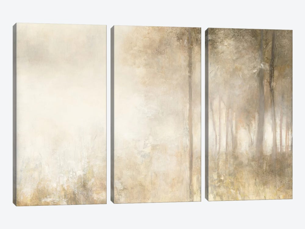 Edge Of The Woods by Julia Purinton 3-piece Canvas Wall Art