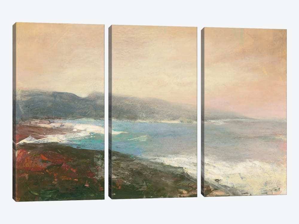 Land's End by Julia Purinton 3-piece Canvas Print
