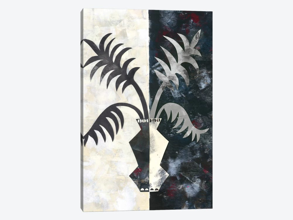 Pretty Palms II by Wild Apple Portfolio 1-piece Canvas Art