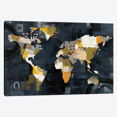 Golden World Canvas Print #WAC5921} by Courtney Prahl Canvas Print