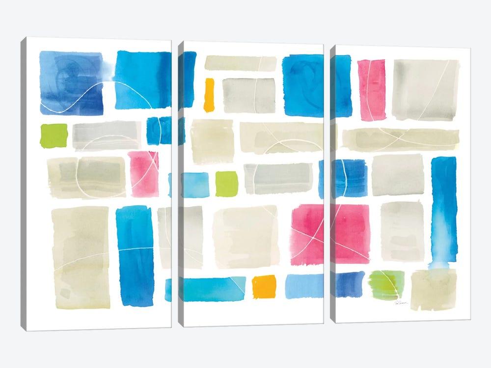Comares I by Sue Schlabach 3-piece Canvas Art Print