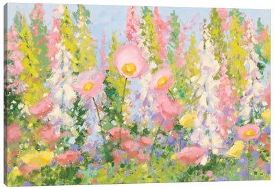 Garden Pastels I Canvas Art Print