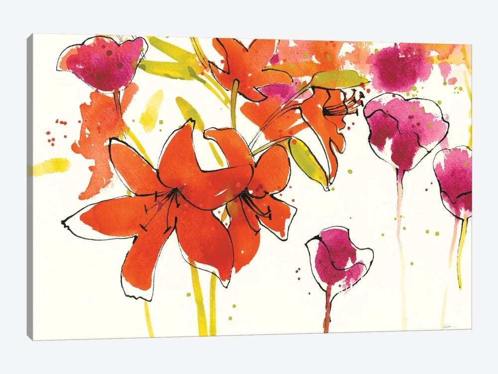 Patty's Plum II by Shirley Novak 1-piece Canvas Art
