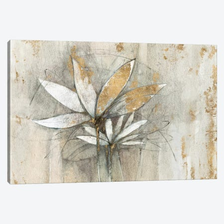 Golden Windflowers Canvas Print #WAC5947} by Avery Tillmon Canvas Wall Art