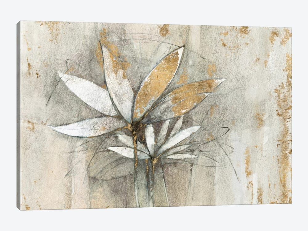 Golden Windflowers by Avery Tillmon 1-piece Canvas Print