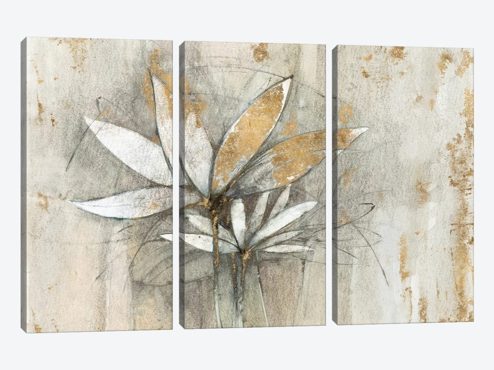 Golden Windflowers by Avery Tillmon 3-piece Art Print