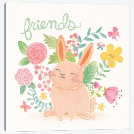 Garden Friends II Canvas Print #WAC5952} by Mary Urban Canvas Art