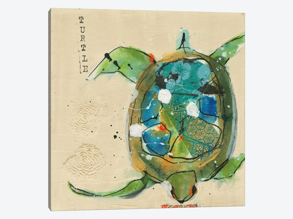 Chentes Turtle by Kellie Day 1-piece Art Print