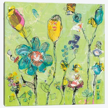 Doodle Garden Canvas Print #WAC5973} by Kellie Day Canvas Artwork