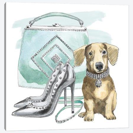 Glamour Pups III Canvas Print #WAC5981} by Beth Grove Canvas Print