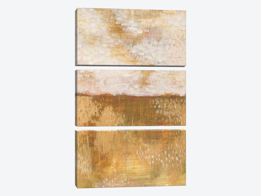 Amber Horizon by Melissa Averinos 3-piece Canvas Print