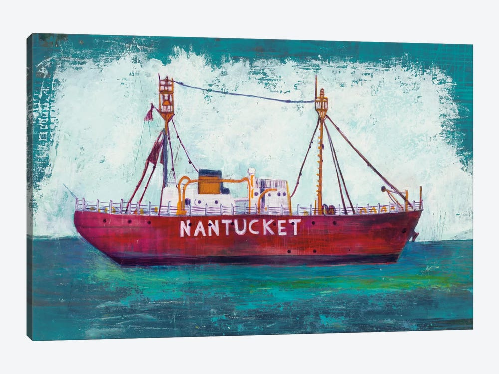 Nantucket Lightship by Melissa Averinos 1-piece Art Print