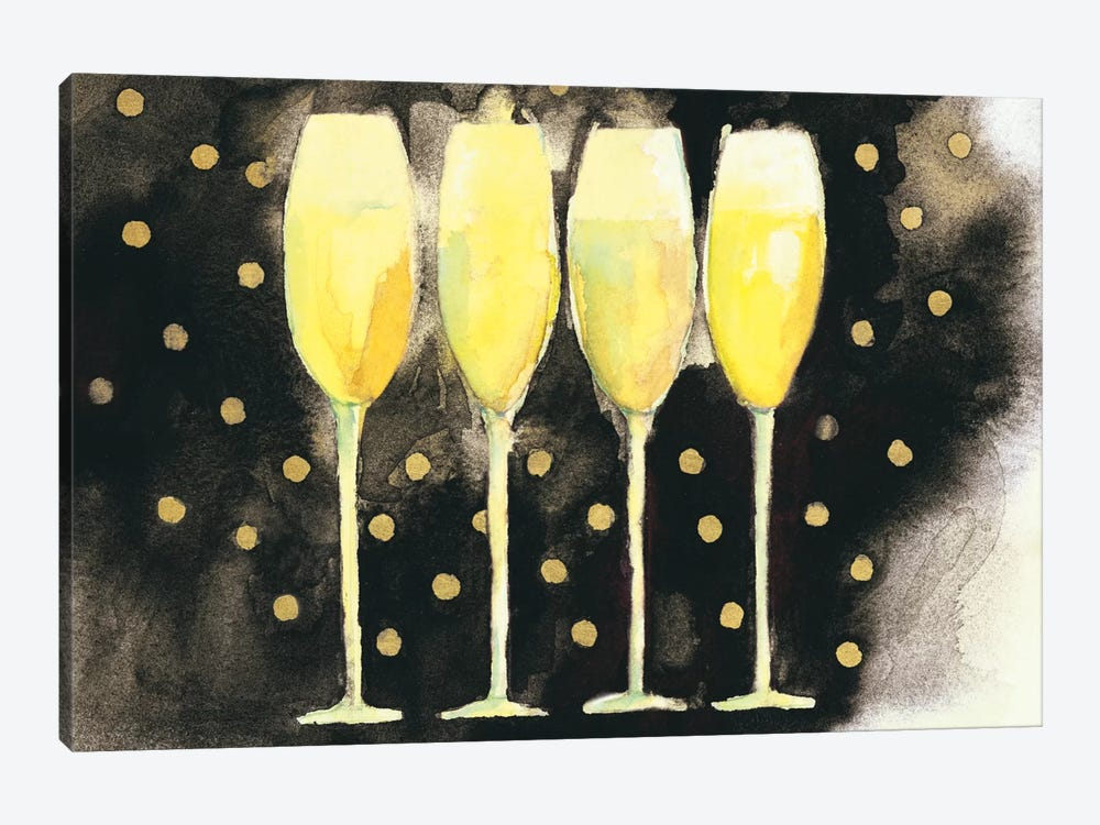 Bubbly Fun by Michael Clark 1-piece Canvas Print