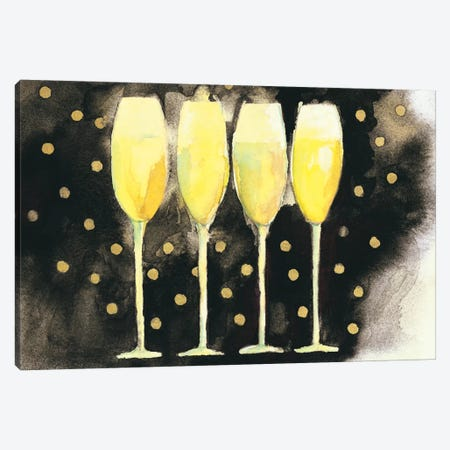 Bubbly Fun Canvas Print #WAC5987} by Michael Clark Canvas Art