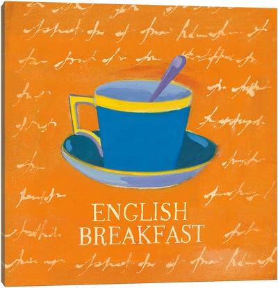 English Breakfast Canvas Art Print