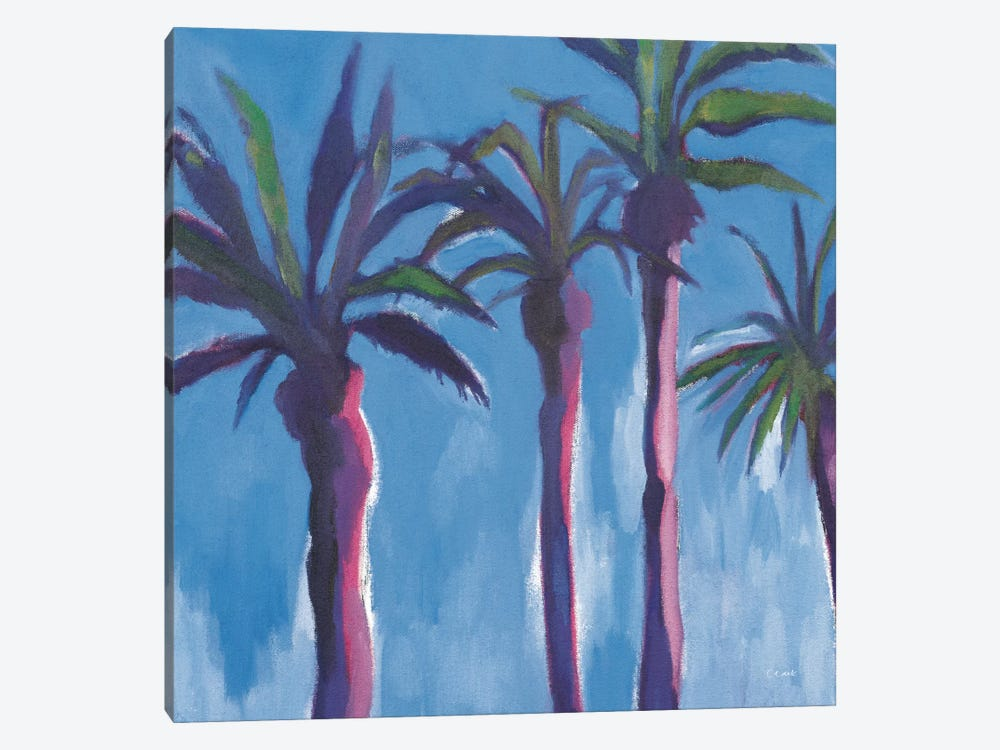 Moroccan Palm Trees by Michael Clark 1-piece Canvas Print