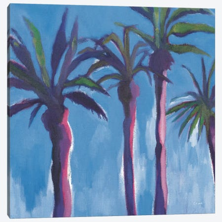 Moroccan Palm Trees Canvas Print #WAC5992} by Michael Clark Canvas Wall Art
