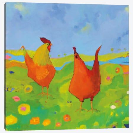 Spring Has Sprung Canvas Print #WAC5997} by Phyllis Adams Canvas Print