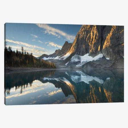 Floe Lake Reflection III Canvas Print #WAC6000} by Alan Majchrowicz Canvas Artwork