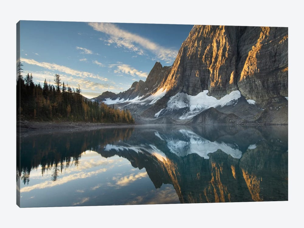 Floe Lake Reflection III by Alan Majchrowicz 1-piece Canvas Artwork