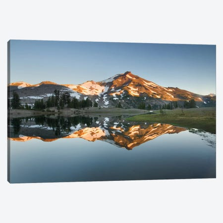 South Sister Reflection II Canvas Print #WAC6002} by Alan Majchrowicz Canvas Artwork
