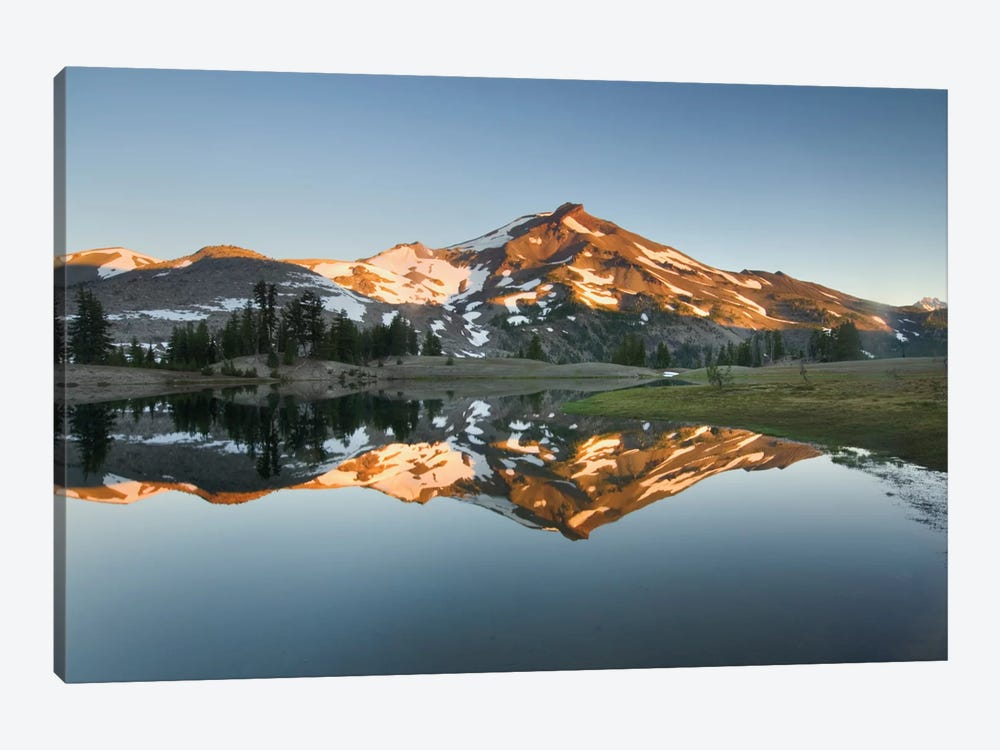 South Sister Reflection II by Alan Majchrowicz 1-piece Canvas Art