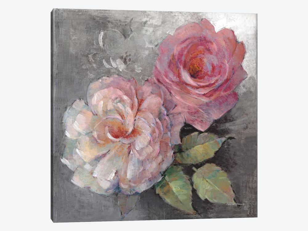 Roses On Gray I by Peter McGowan 1-piece Art Print