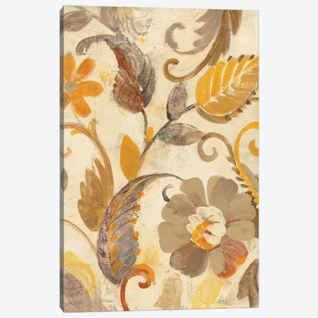 Detail Of Left Side, Autumn Garden 3-Piece Canvas #WAC6008} by Albena Hristova Canvas Artwork
