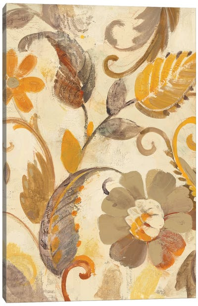 Detail Of Left Side, Autumn Garden Canvas Art Print