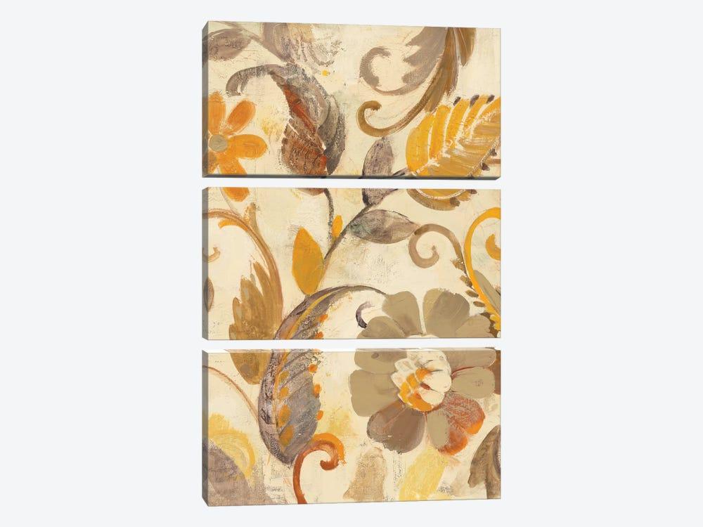 Detail Of Left Side, Autumn Garden by Albena Hristova 3-piece Canvas Art