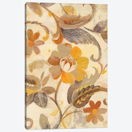 Detail Of Right Side, Autumn Garden 3-Piece Canvas #WAC6009} by Albena Hristova Canvas Wall Art