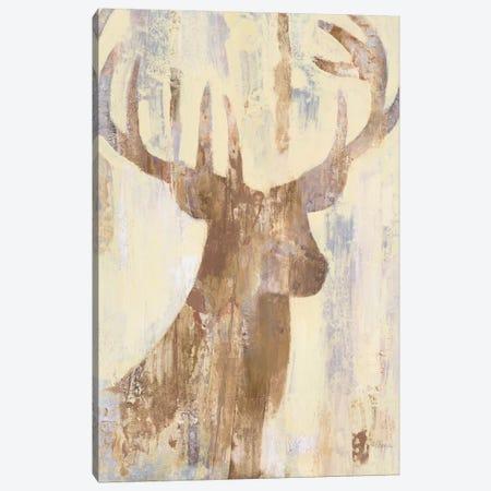 Golden Antlers I Canvas Print #WAC6010} by Albena Hristova Art Print
