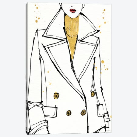 Fashion Strokes I Canvas Print #WAC6012} by Anne Tavoletti Canvas Art Print