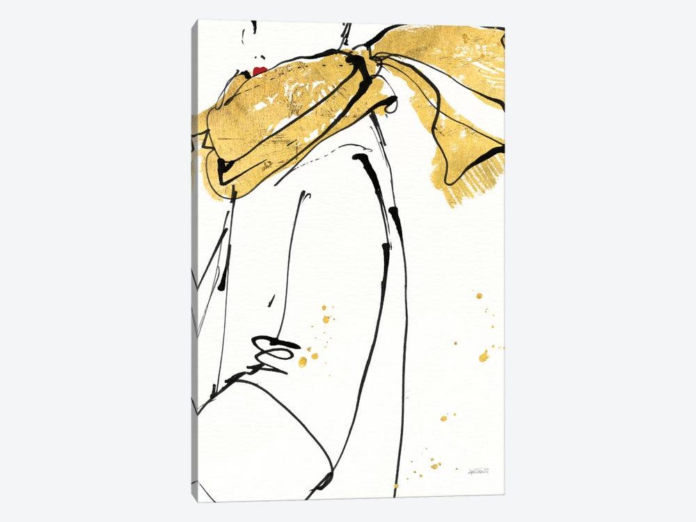 Fashion Strokes II by Anne Tavoletti 1-piece Canvas Artwork