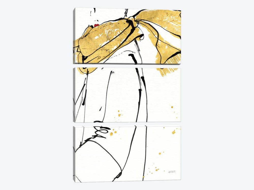Fashion Strokes II by Anne Tavoletti 3-piece Canvas Wall Art