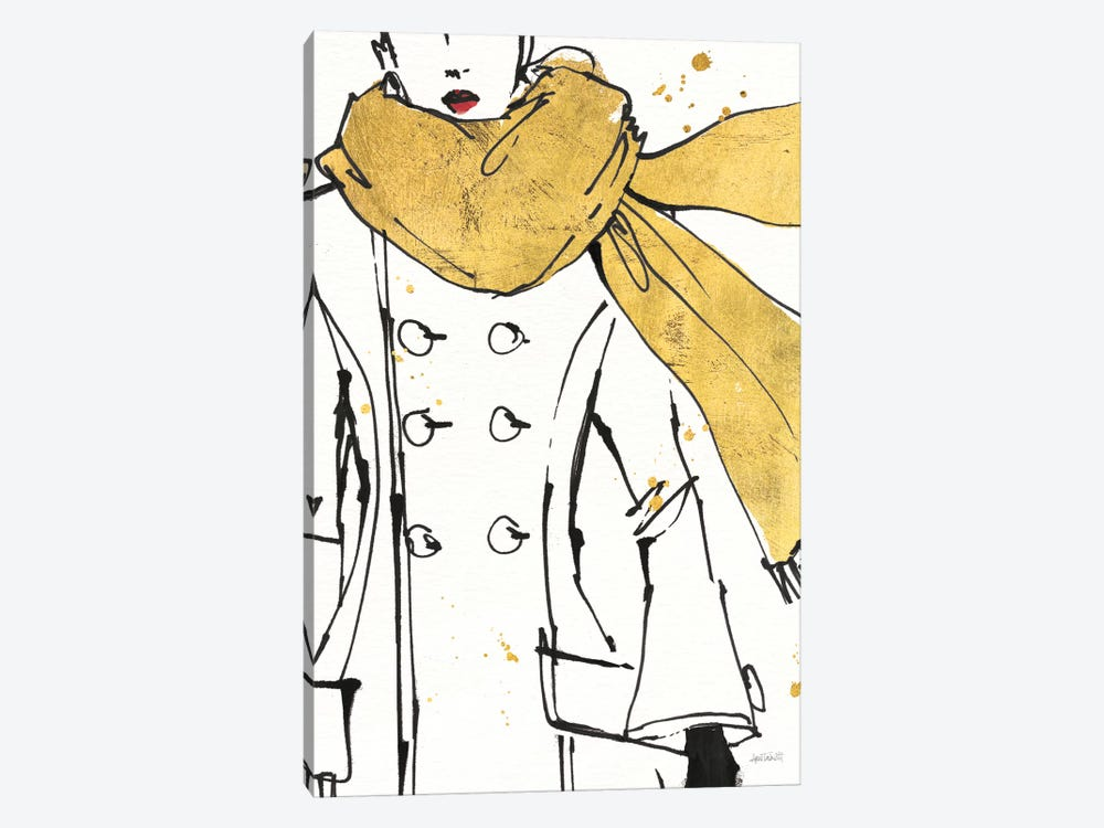 Fashion Strokes III by Anne Tavoletti 1-piece Art Print