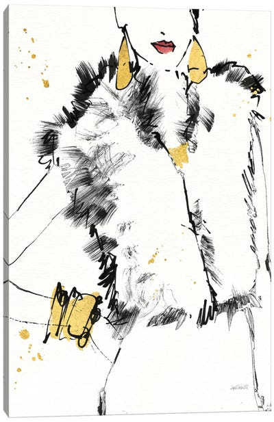 Fashion Strokes IV Canvas Art Print