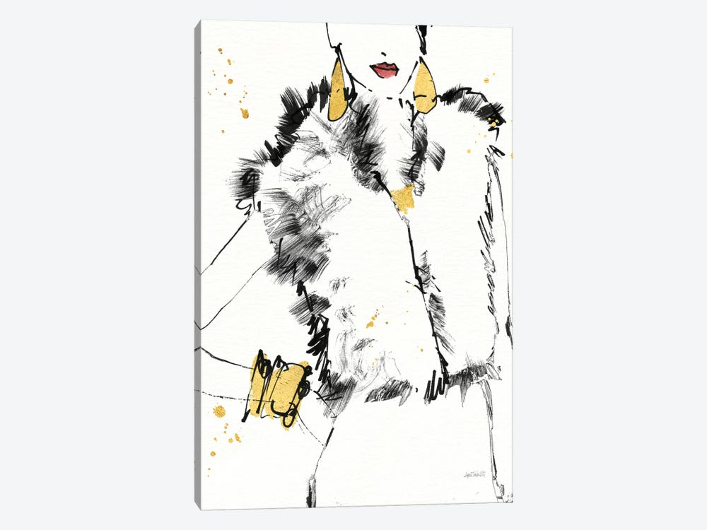 Fashion Strokes IV by Anne Tavoletti 1-piece Canvas Artwork