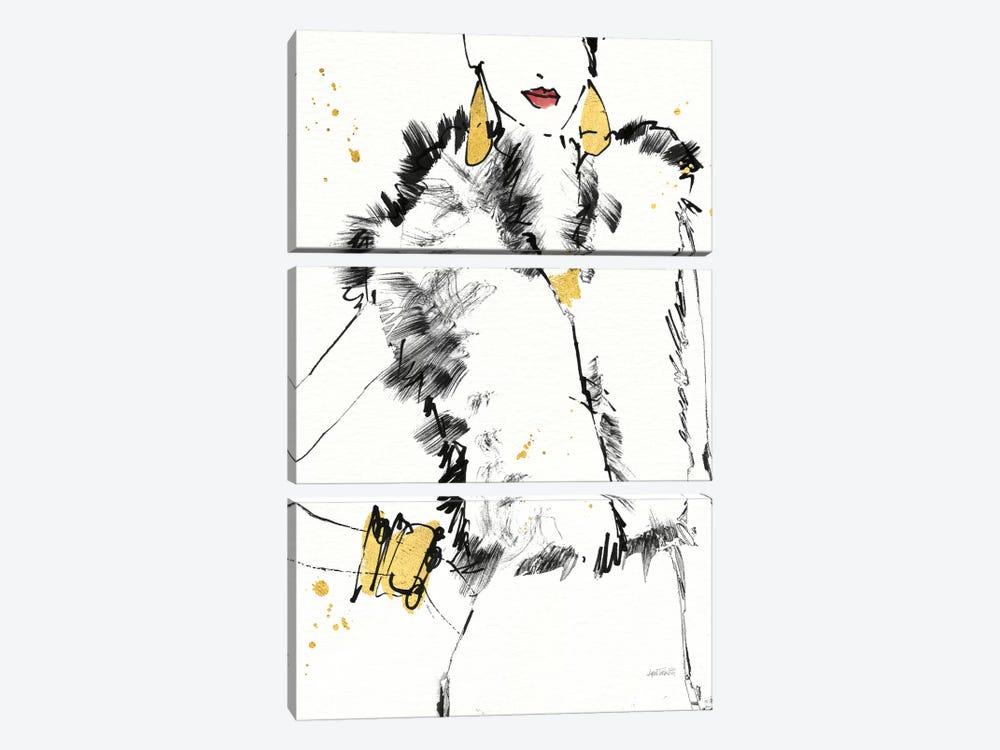 Fashion Strokes IV by Anne Tavoletti 3-piece Canvas Artwork