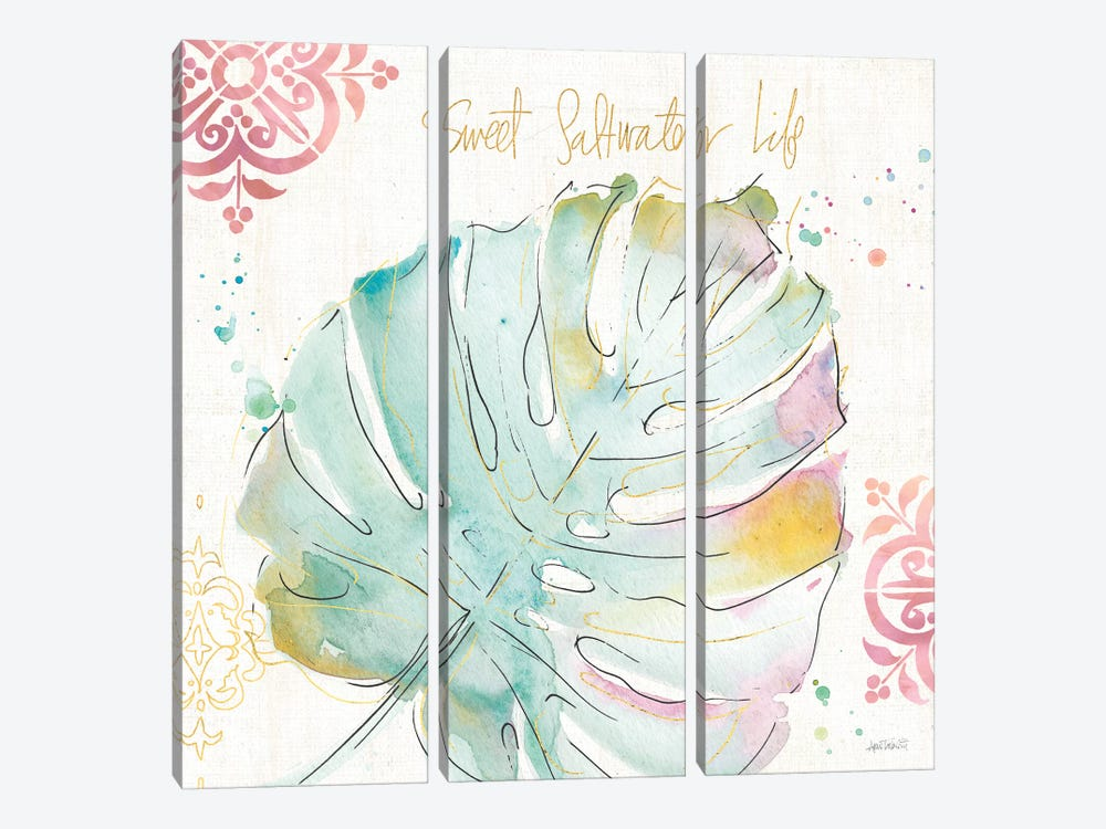 Palm Passion IV by Anne Tavoletti 3-piece Art Print