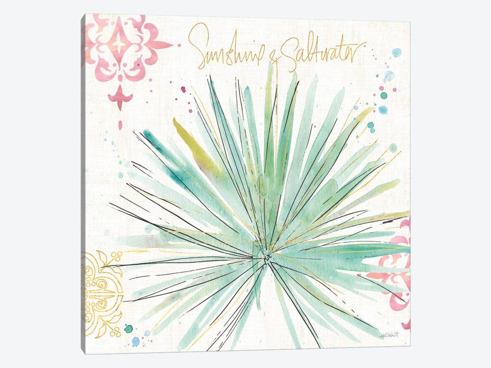 Palm Passion V by Anne Tavoletti 1-piece Canvas Art